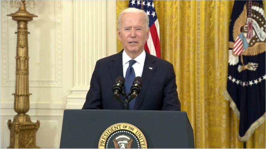 WATCH: Biden defends his recovery plans after disastrous jobs report