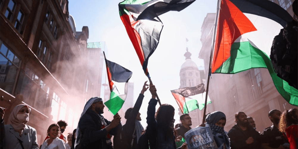 WATCH: Anti-Israel protesters yell 'F**k the Jews' and 'r*pe their daughters' during SHOCKING anti-Semitic demonstrations in London