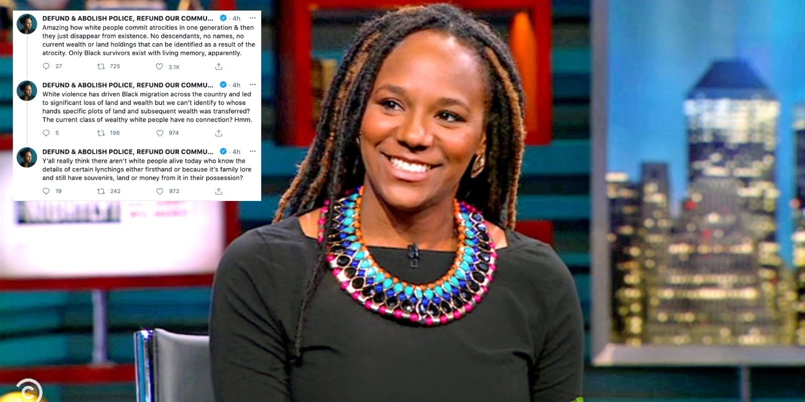 BLM activist Bree Newsome calls for land reapportionment as part of reparations