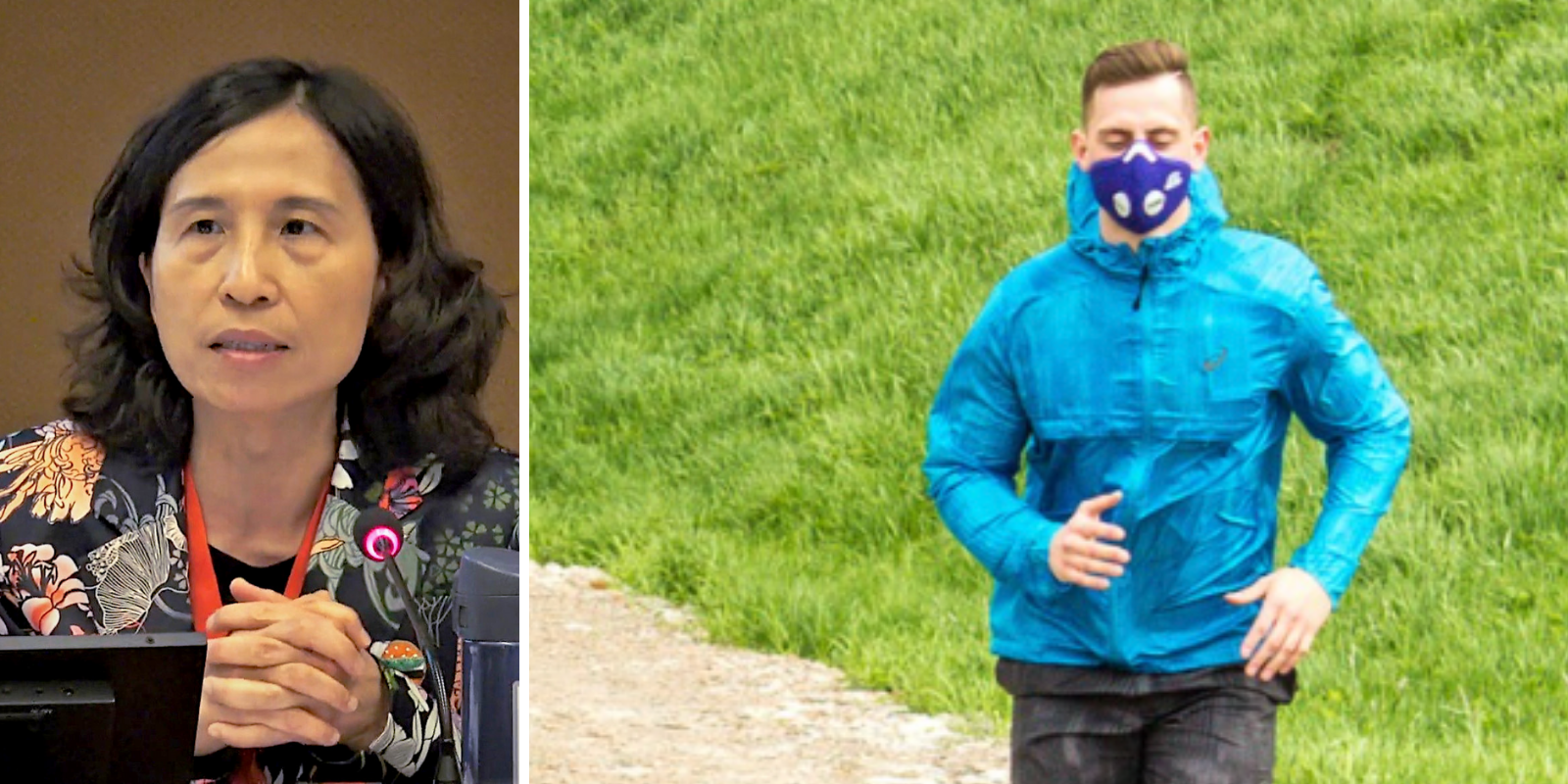 Dr. Theresa Tam recommends wearing masks while jogging outdoors