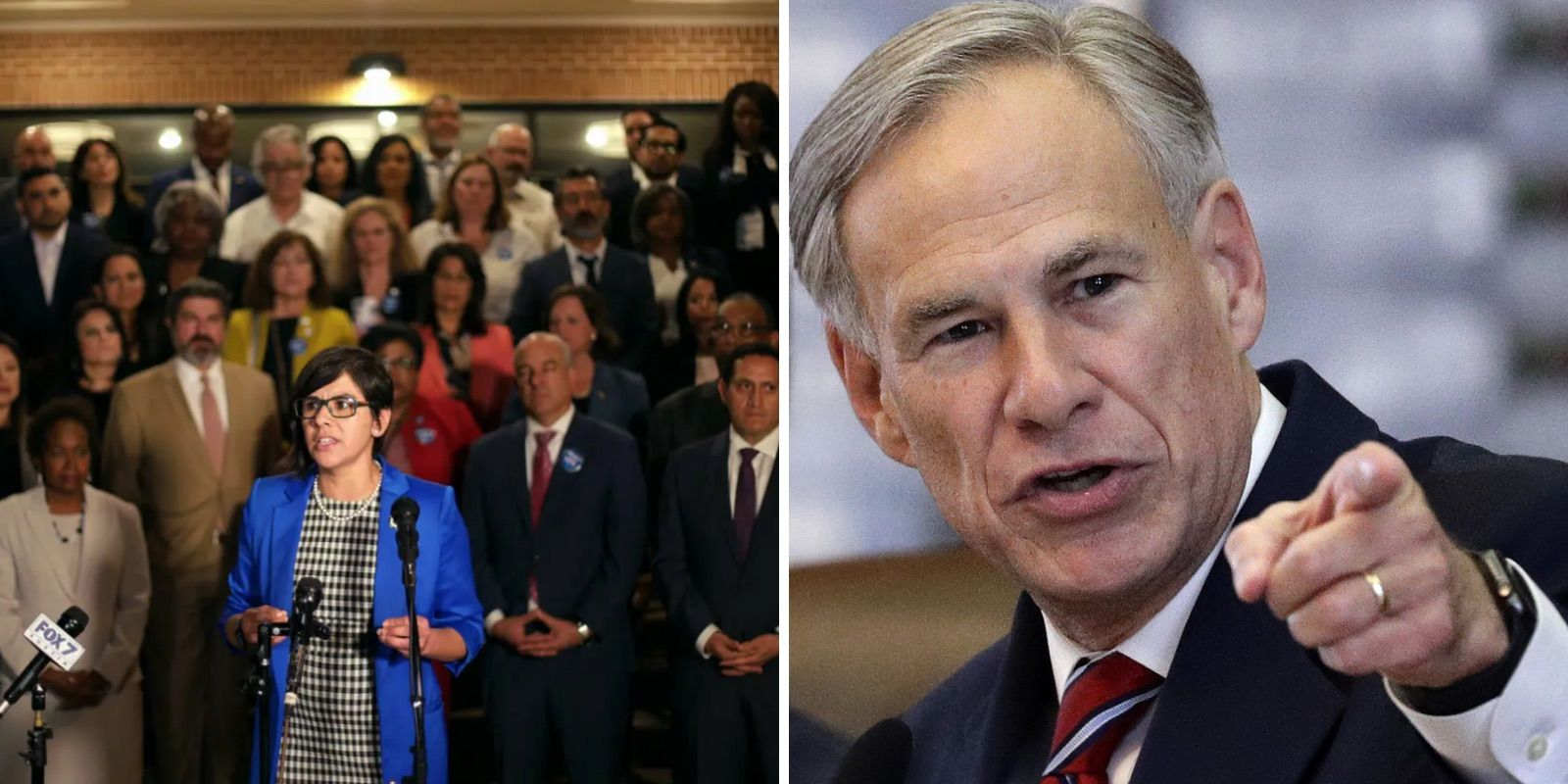 Dems walk out of Texas legislative session to stop voting law from passing