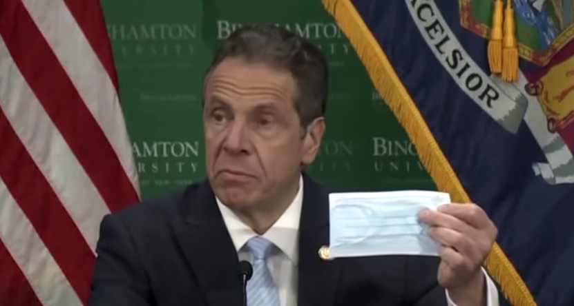 BREAKING: Gov. Cuomo announces New York will drop mask mandate due to new CDC guidance