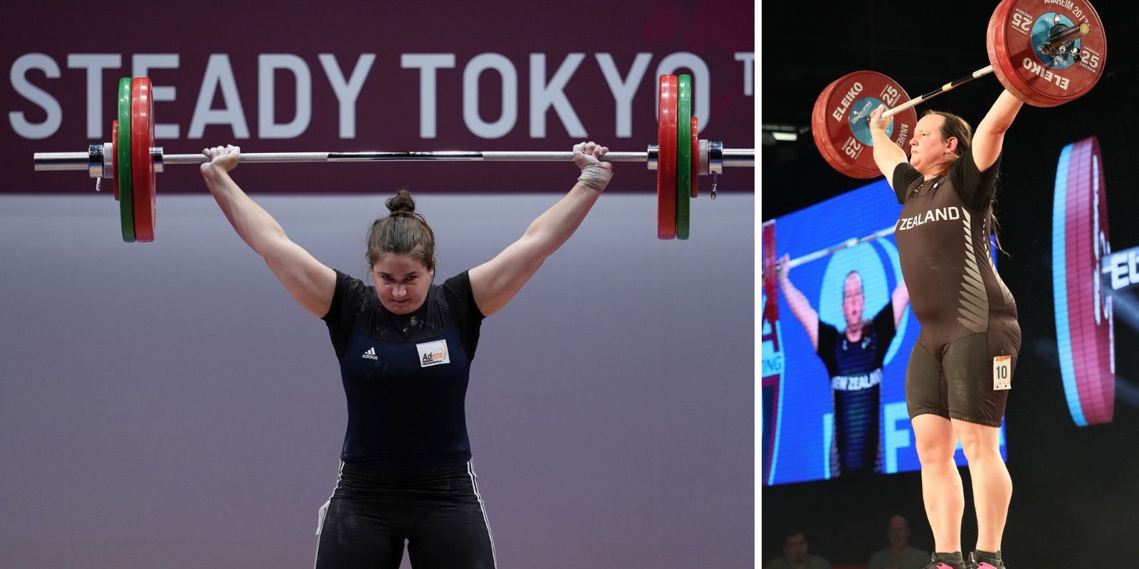 Olympic weightlifter speaks out against biological male competing in women's events in Tokyo