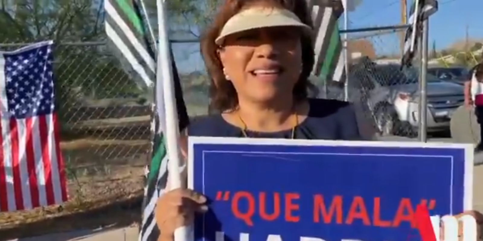 People of all political stripes show up at El Paso to protest Kamala's handling of the border crisis