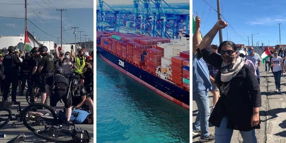 10 anti-Israel, Antifa activists arrested trying to prevent ship from unloading medical supplies in Seattle