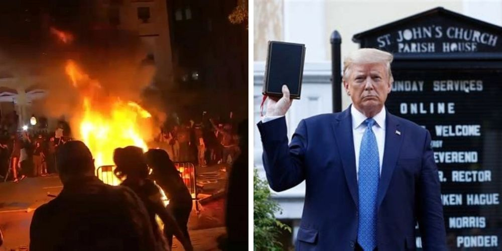 Judge dismisses claims against Trump over clearing DC protestors from Lafayette Square