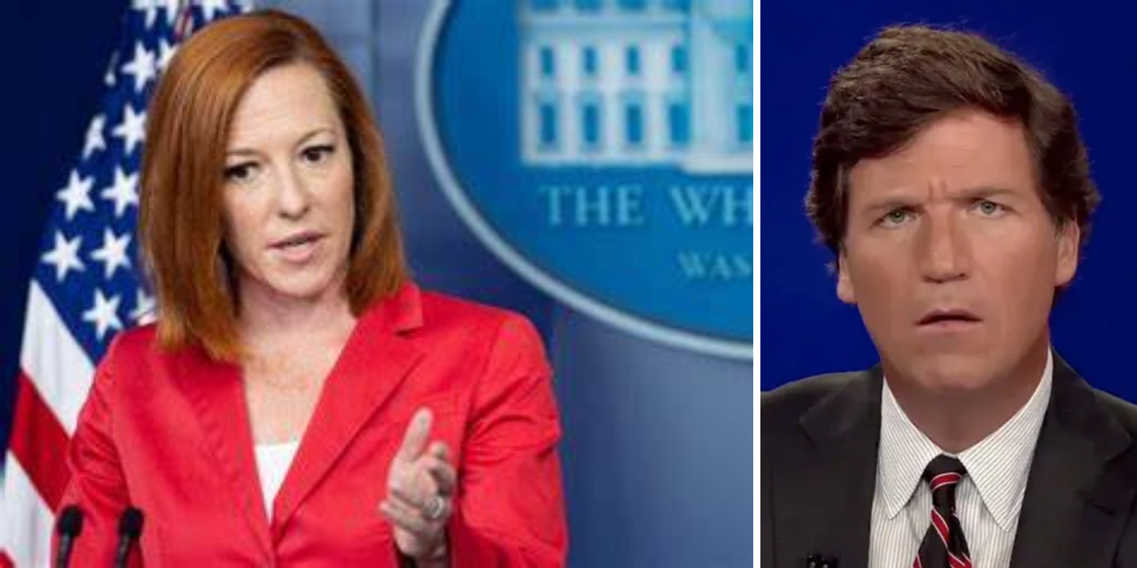 White House deflects when asked about allegations that NSA is spying on Tucker Carlson