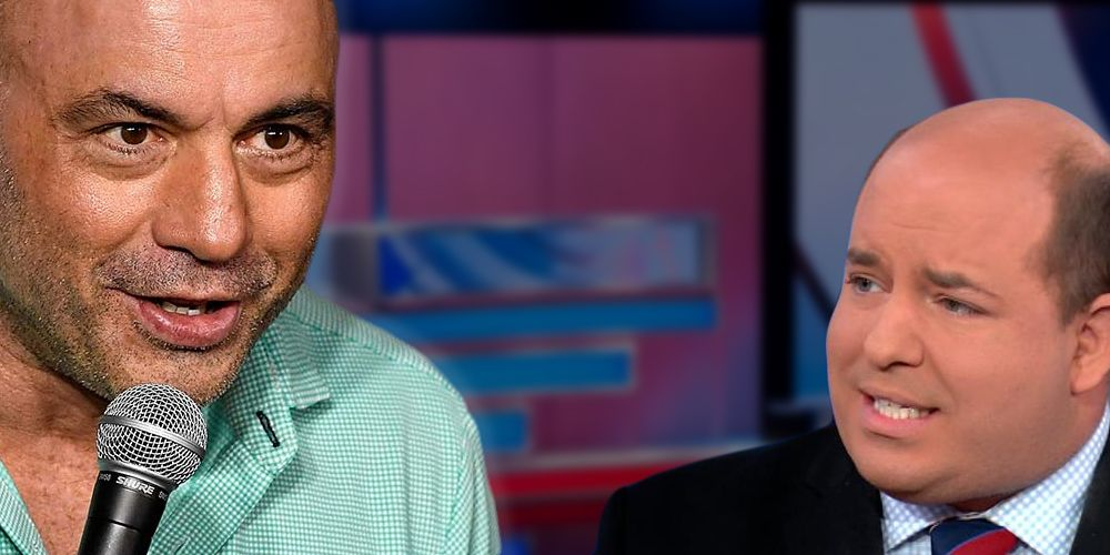 Joe Rogan slams CNN's Brian Stelter: 'Hey motherf*cker, you're supposed to be a journalist'