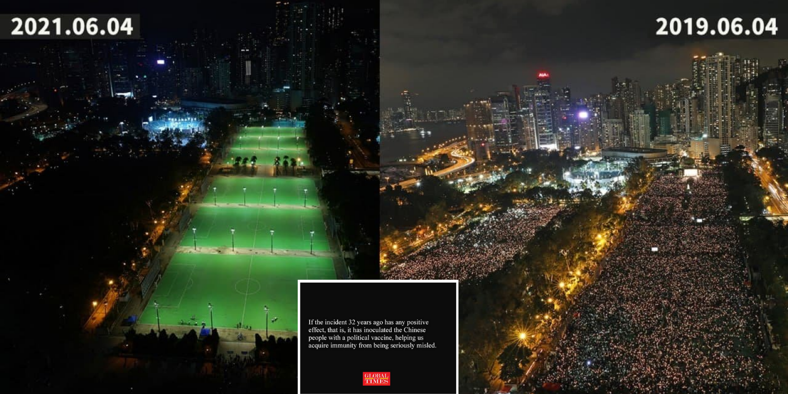 Chinese state media says they are 'laughing' at people commemorating the Tiananmen Square massacre