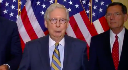 WATCH: McConnell slams Schumer for ending 'era of bipartisanship'
