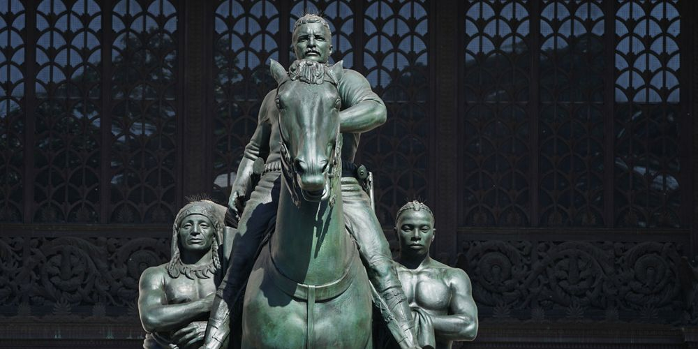 Theodore Roosevelt statue at NYC Natural History Museum to be relocated