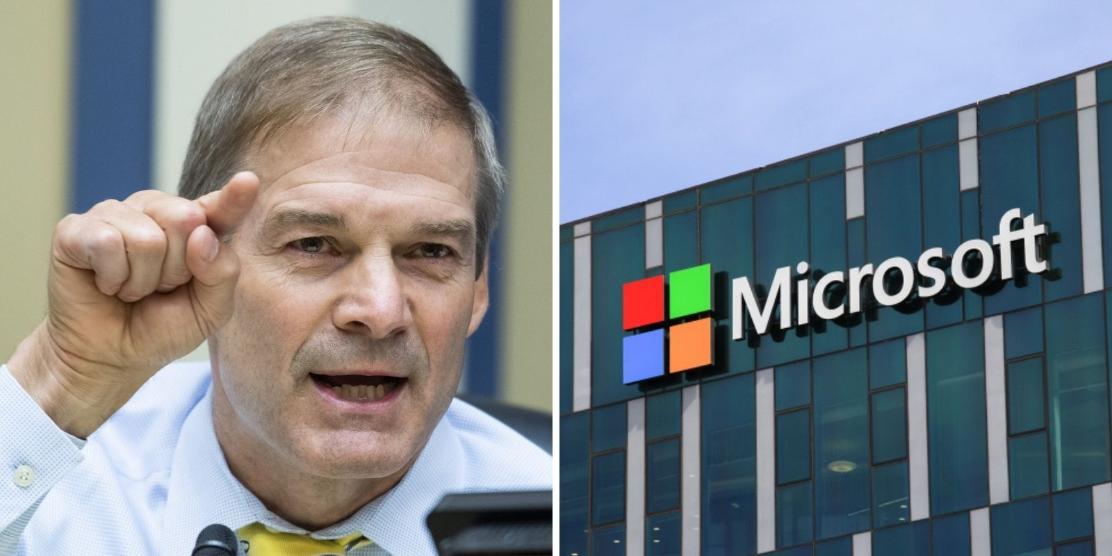 Rep. Jim Jordan says Big Tech 'is out to get conservatives,' slams Democrats for shielding Microsoft from antitrust scrutiny
