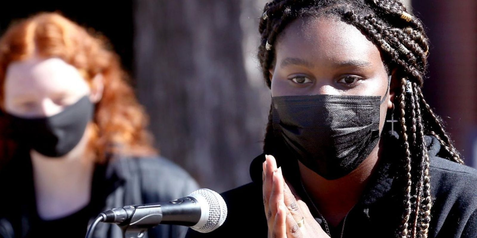 HATE HOAX: BLM activist claimed she was the victim of hate crimes including arson—video shows she started the fire