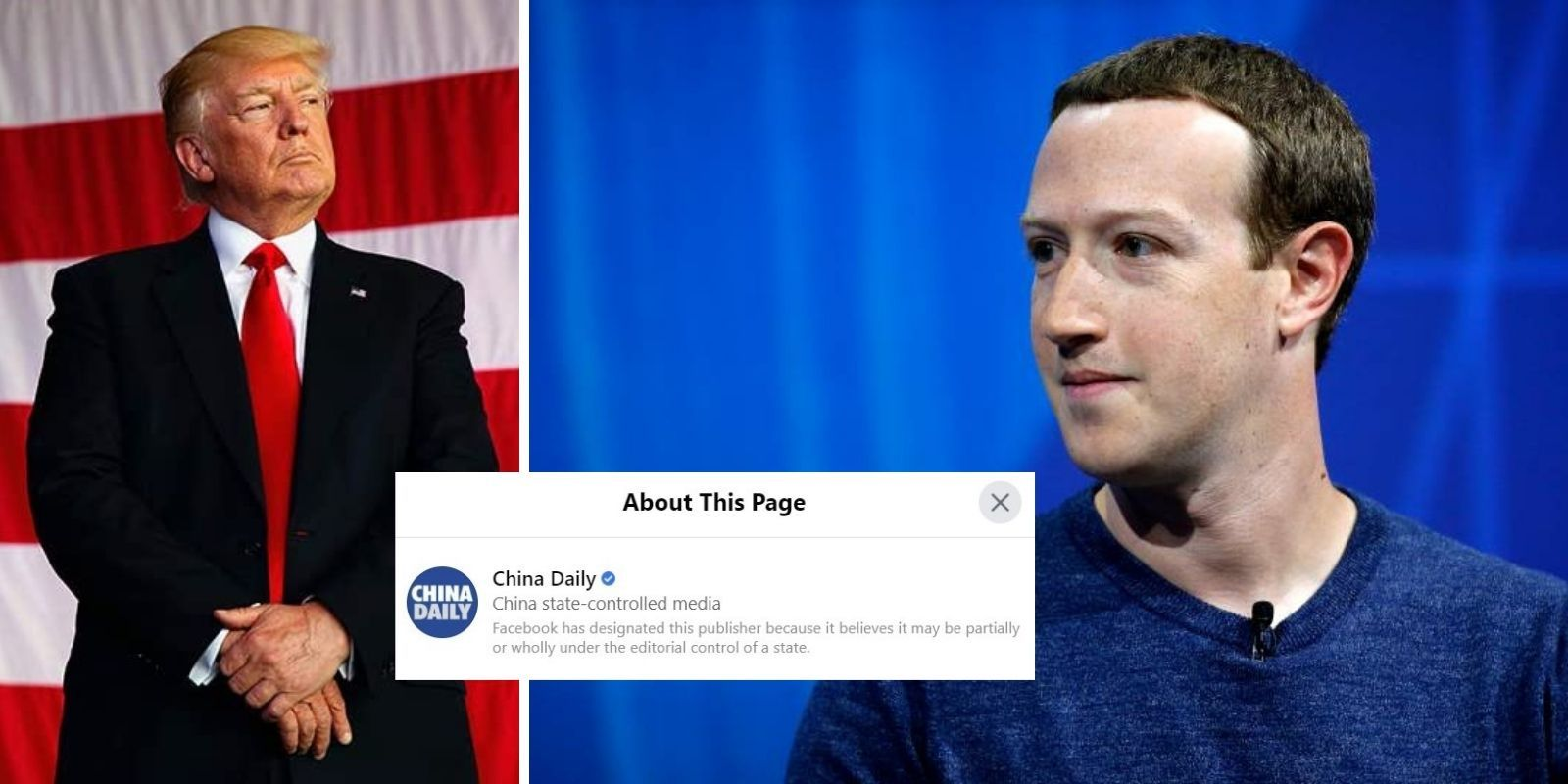 American president banned by Facebook while CCP allowed to spew lies on social media