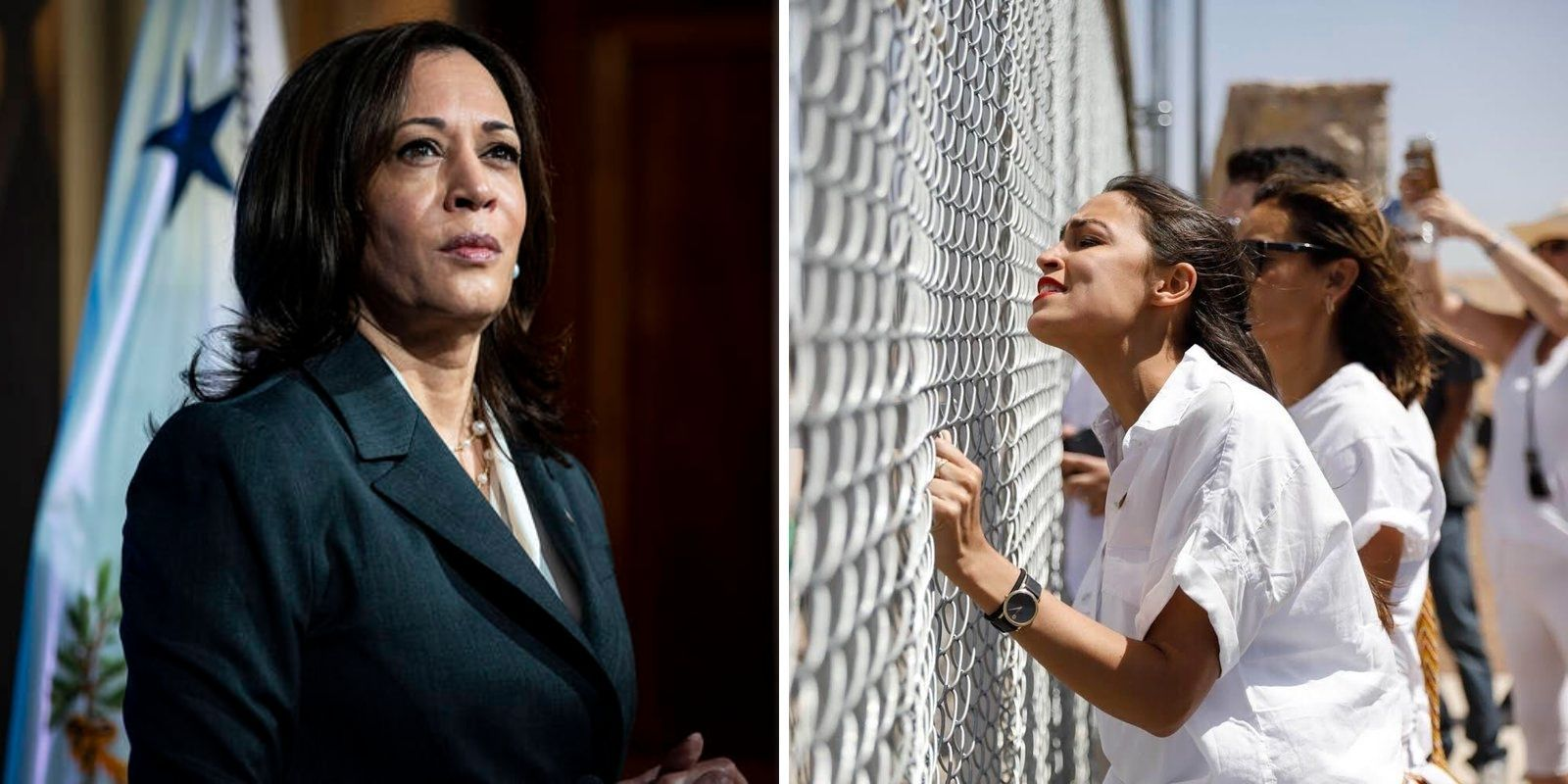 BREAKING: AOC slams 'disappointing' Kamala speech urging migrants not to come