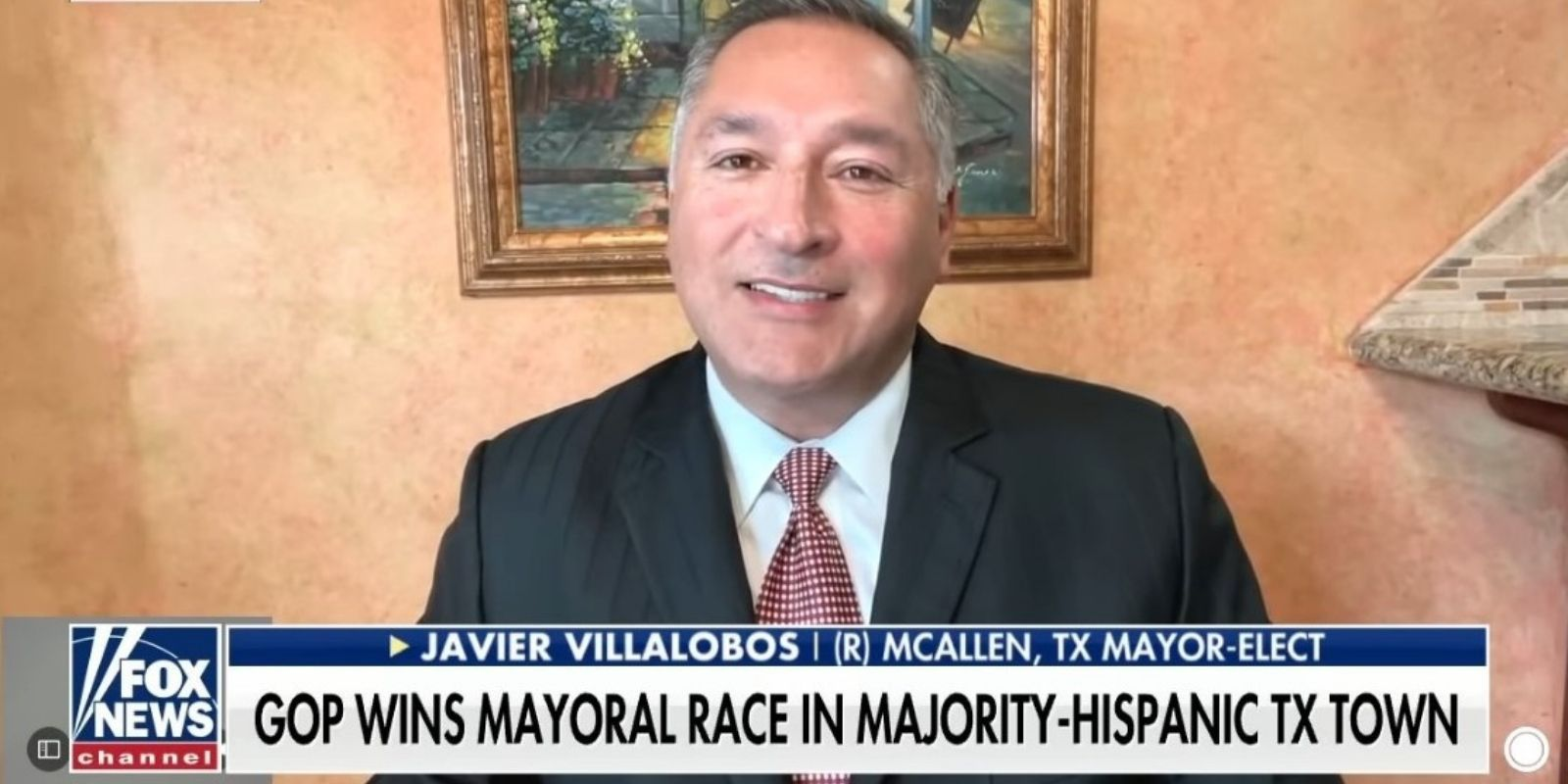 WATCH: Republican mayor-elect who flipped Texas border town says Hispanic voters are 'opening their eyes'