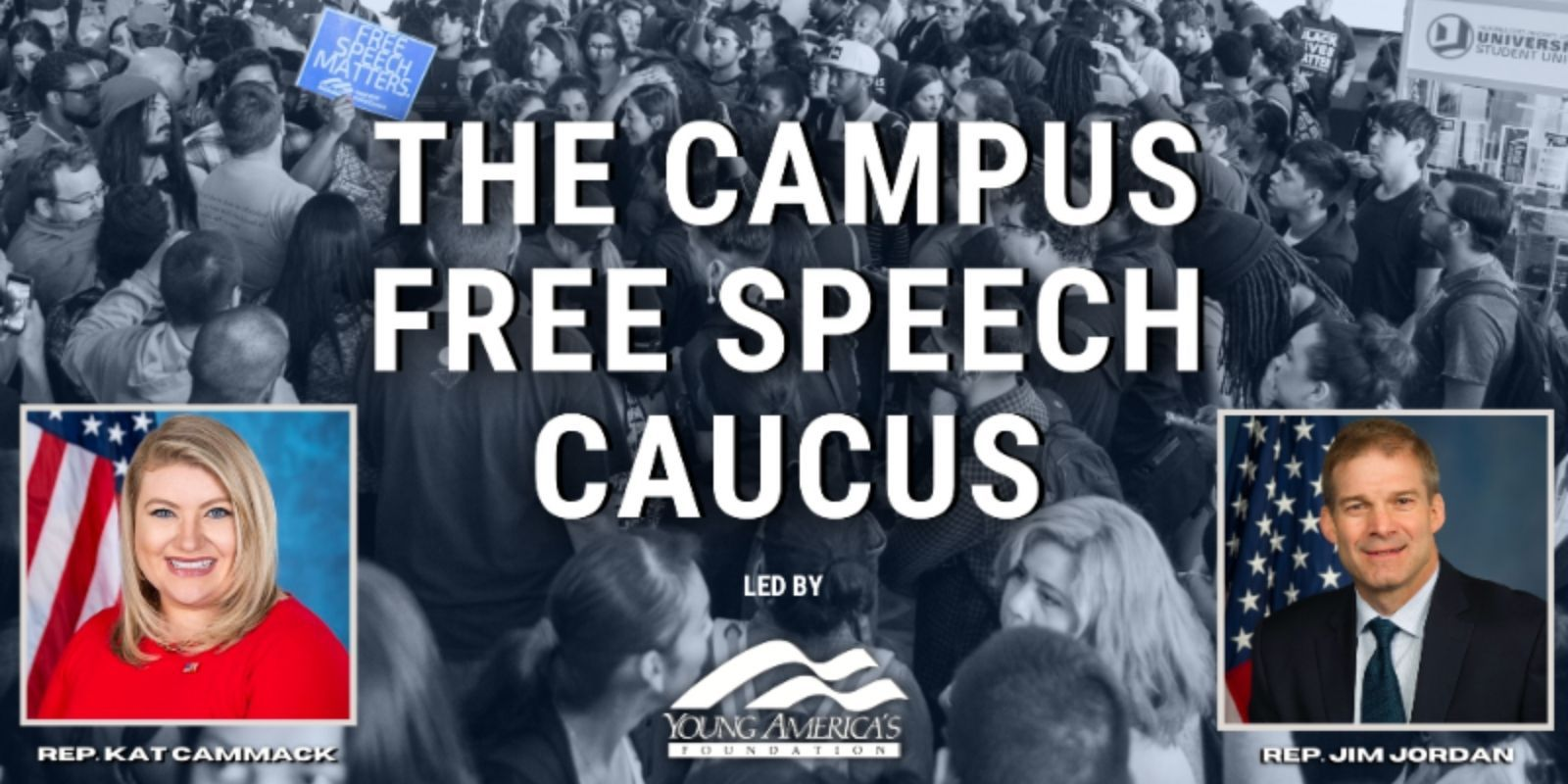 House GOP teams with YAF on 'Free Speech Caucus' to fight for 1A rights on college campuses