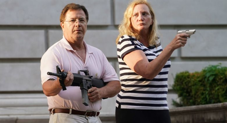 BREAKING: McCloskey couple enter into plea deal, pay fines, give up guns