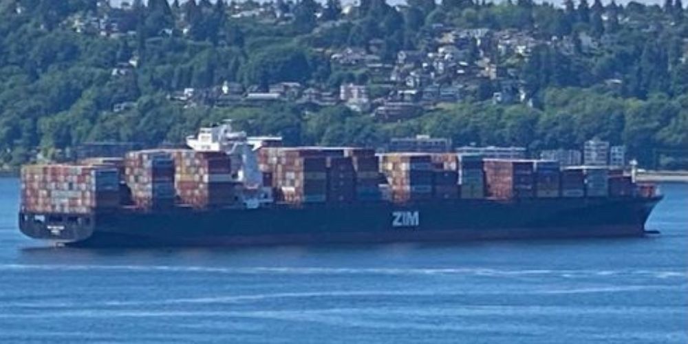 Israeli container ship remains moored in Seattle, after pro-Palestinian groups backed by Antifa target the port
