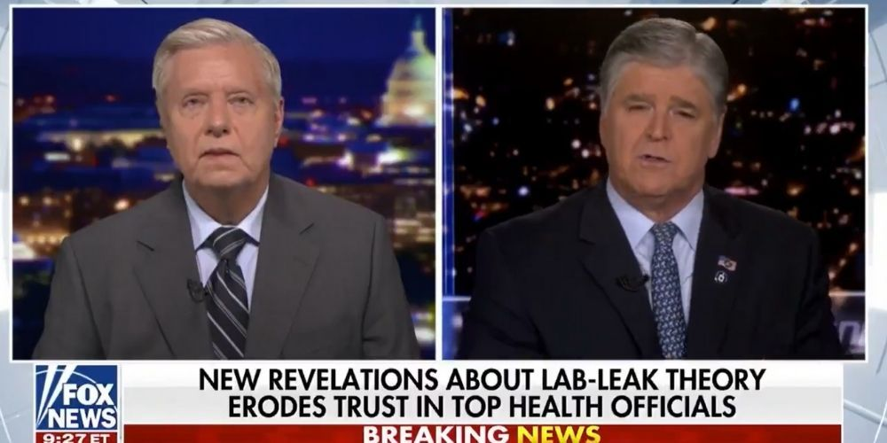 Sen. Lindsey Graham on the Wuhan lab leak theory: 'If Trump was right about the lab leak, it would change the image the public had of President Trump regarding the coronavirus'