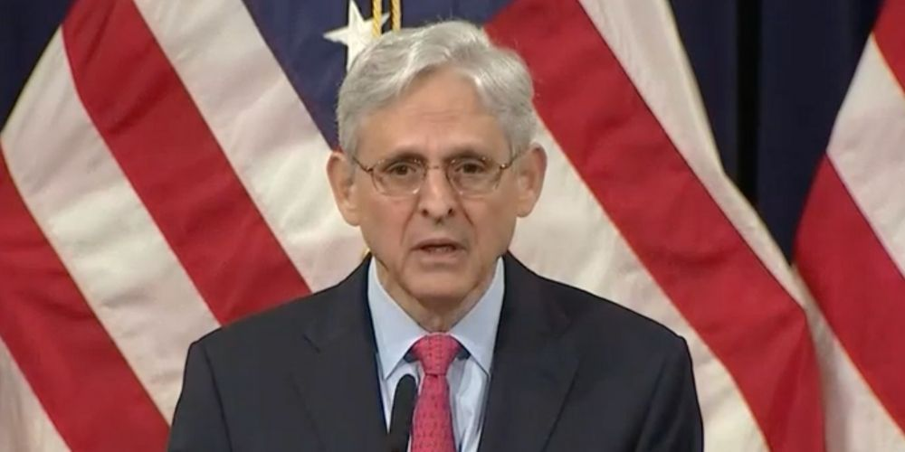 WATCH: AG Garland says white supremacists are the 'top domestic violent extremist threat'