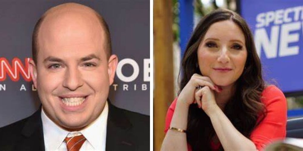 Brian Stelter's news anchor wife accused of workplace bullying, 'A lot of people don't like working with Jamie'