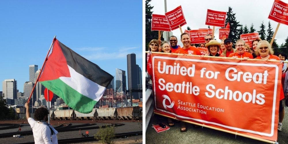 Seattle teachers' union allegedly approves resolution in favor of BDS but few educators knew the vote was happening