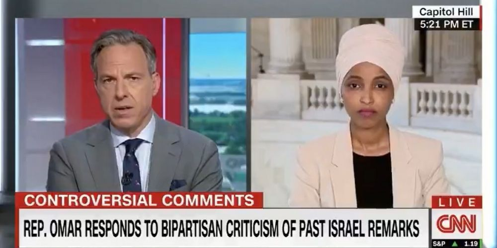 WATCH: Ilhan Omar says Jewish Democrats 'haven't been partners in justice'