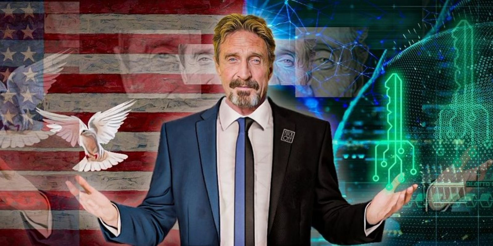BREAKING: John McAfee found dead in prison cell after court allows extradition to US
