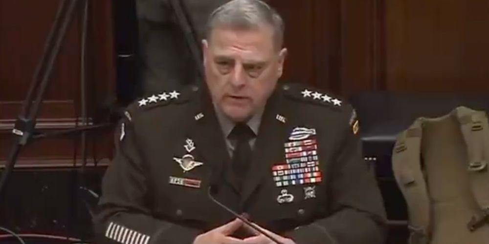 WATCH: Joint Chiefs Chairman says he's offended people are calling the army 'woke' as he passionately defends critical race theory