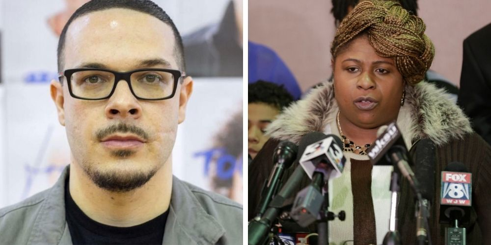 Tamir Rice's mother SLAMS Shaun King for profiting off her son's death, 'God will deal with you white man'