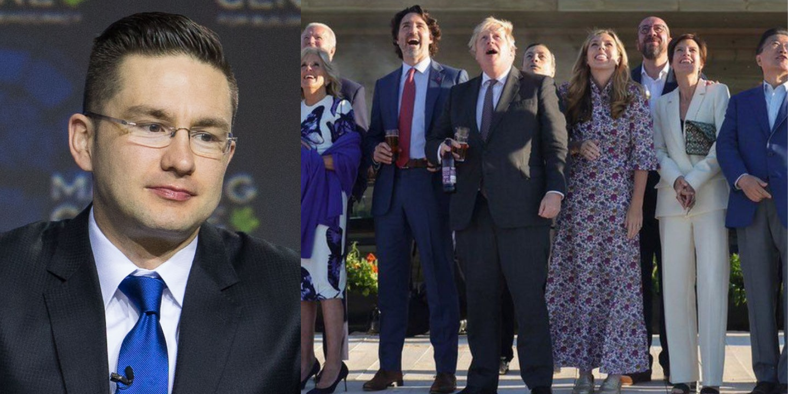 Pierre Poilievre ROASTS Trudeau for being a 'one-dose, maskless hypocrite'