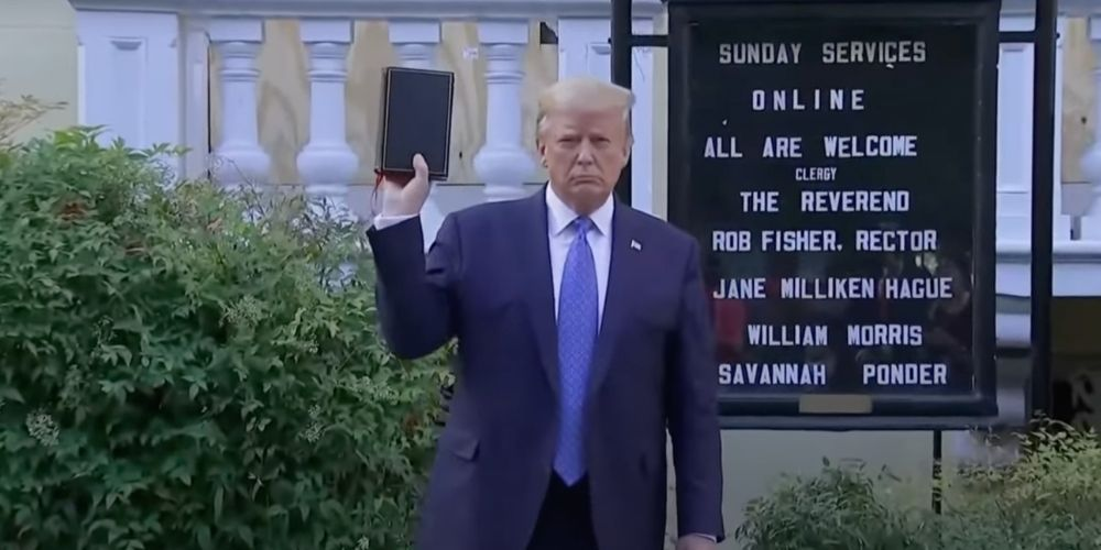 REVEALED: Police did NOT clear Lafayette Park for Trump 'photo-op' at church