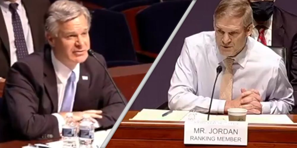 WATCH: Rep. Jim Jordan grills Christopher Wray over interrogation of Alaskan couple incorrectly targeted by FBI
