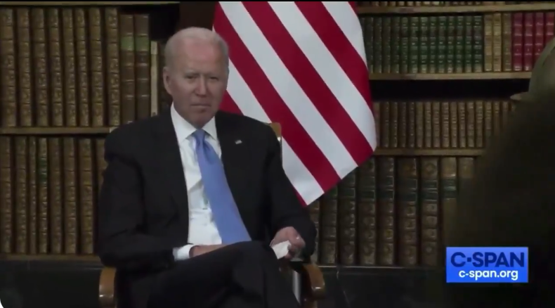 Biden responds affirmatively to question about whether he trusts Putin, White House comms team walks it back