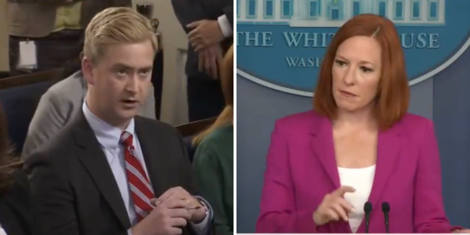 WATCH: White House blames guns for rising crime during 'defund the police' era