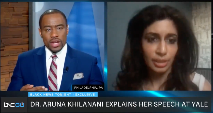 WATCH: Yale lecturer who talked about killing white people defends her lecture, calls critics 'defensive'