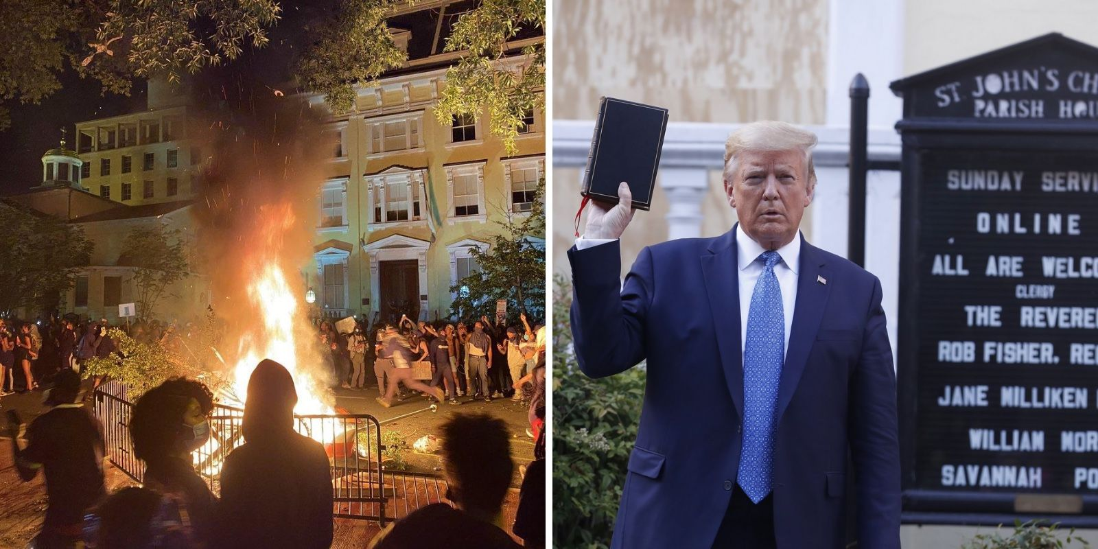 REVEALED: DC mayor, not Trump, responsible for 'tear gassing' protestors in Lafayette Square