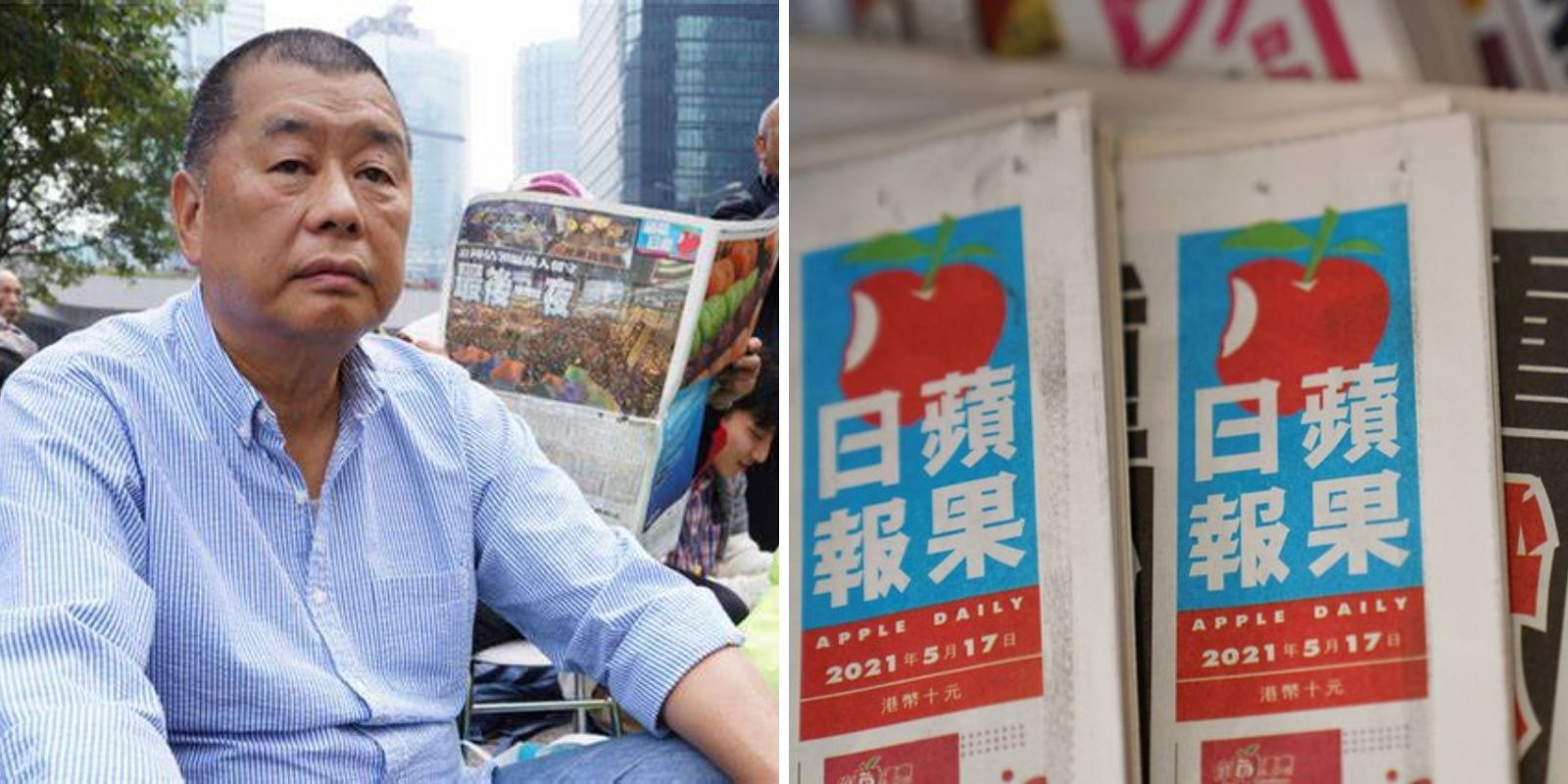 Hong Kong's last free newspaper goes silent under China's tough 'security laws'
