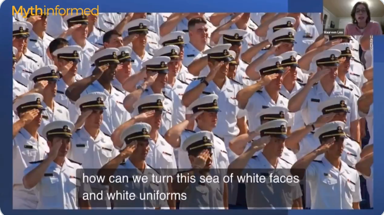 Boston University professor suggests US Naval Academy lower standards to admit more people of color