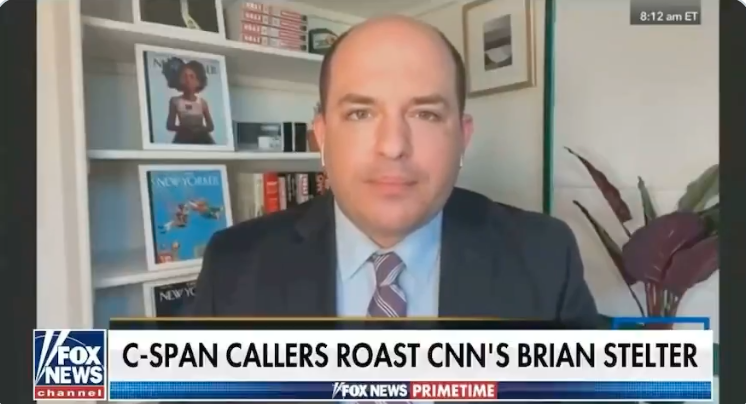 ROASTED POTATO: CNN's Brian Stelter destroyed by call-in guests on C-SPAN