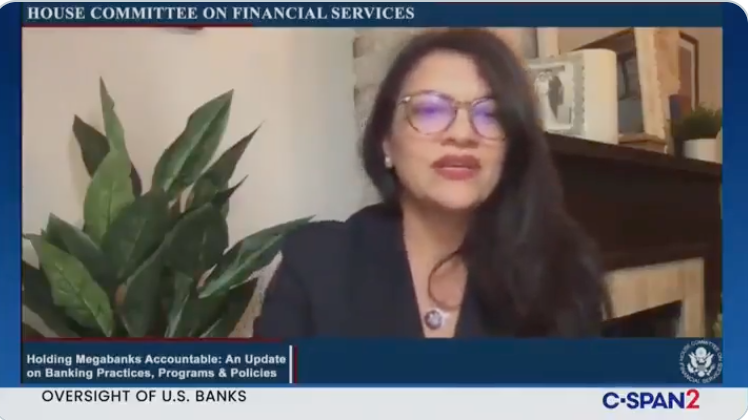 WATCH: Tlaib demands banks stop financing oil refineries because of 'environmental racism'