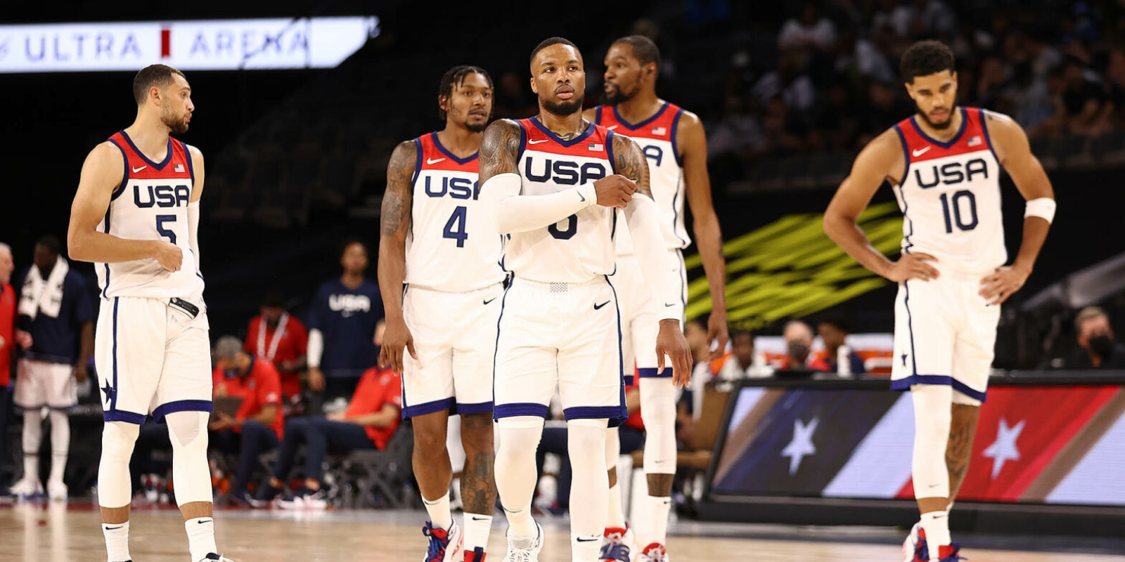 US men's basketball team stunned by 'humiliating' Olympics defeat to France
