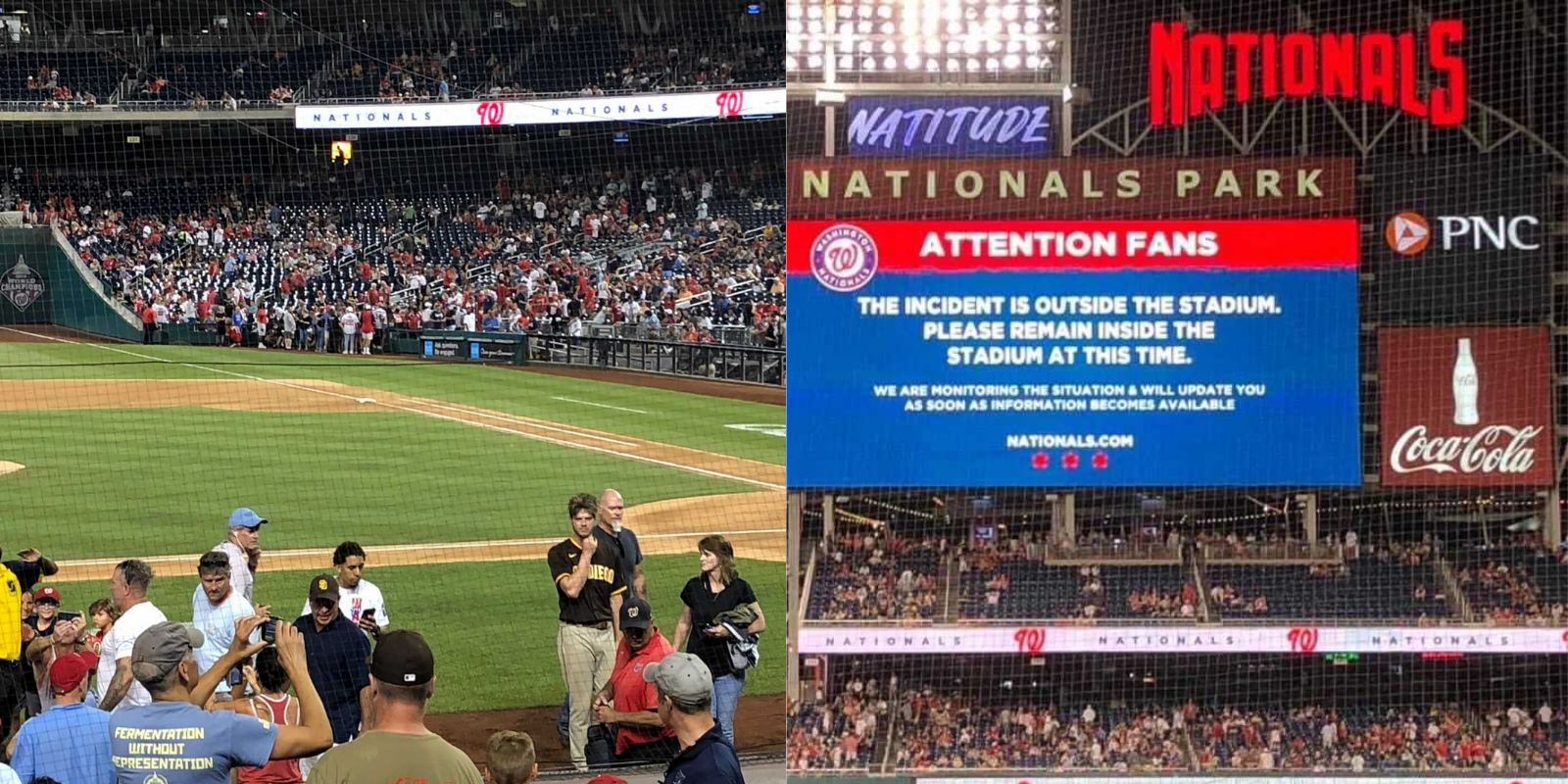 Shooting at Nats-Padres game leaves 3 wounded, raises questions about safety in DC