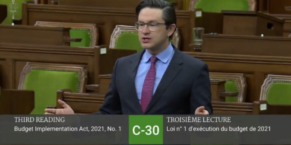 COVID wage subsidy 'benefits the rich,' says Poilievre because of 'inflation tax'