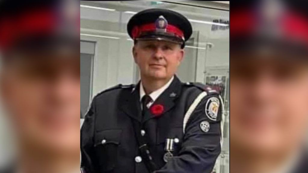Man charged with first-degree murder in death of Toronto police officer