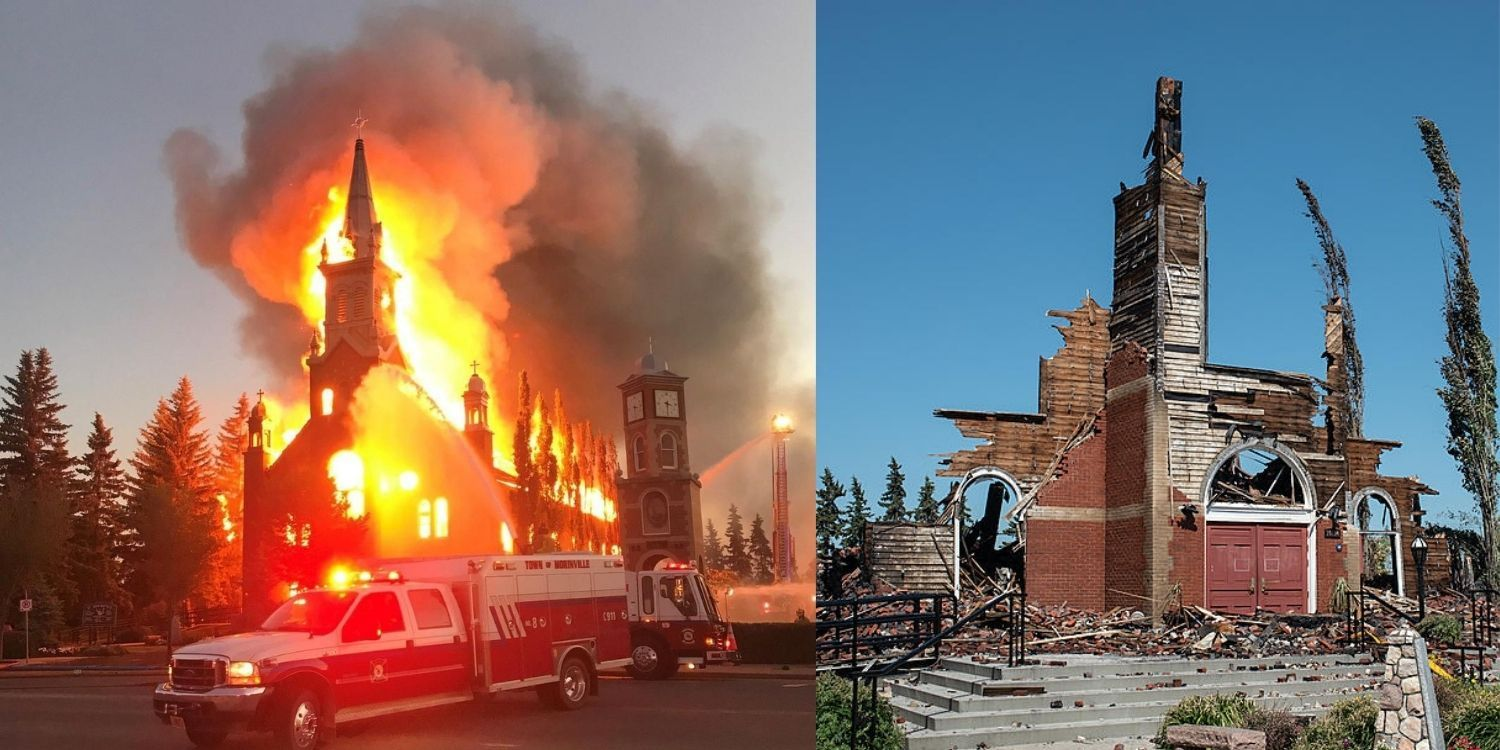 Canada has become the church-burning centre of the western world