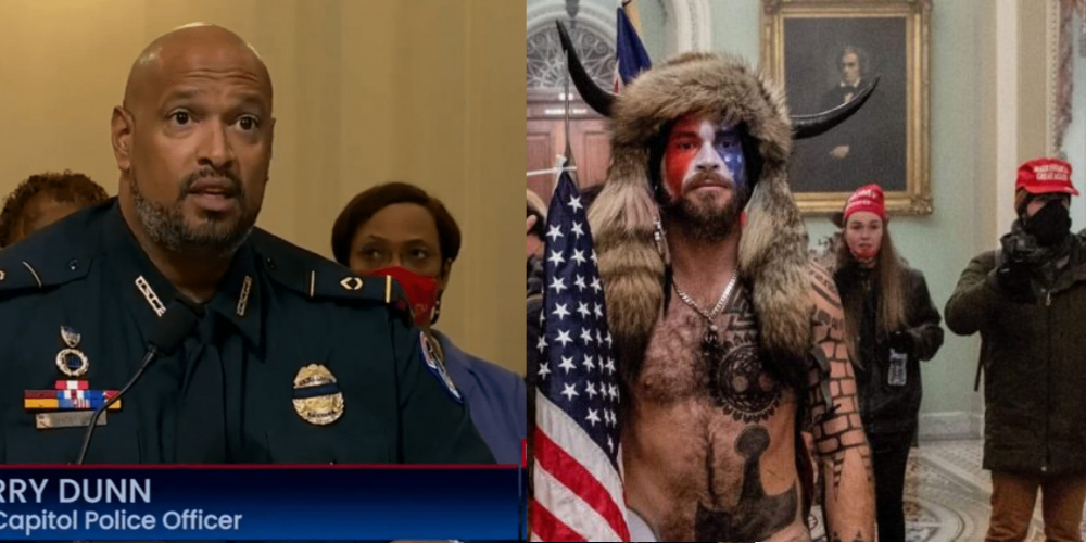 Capitol police officer claims Jan. 6 riot was 'bigger threat' than BLM & Antifa riots