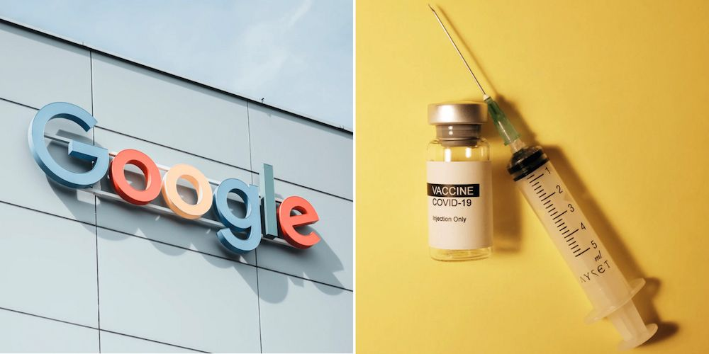 Google mandates vaccines for employees before returning to the office