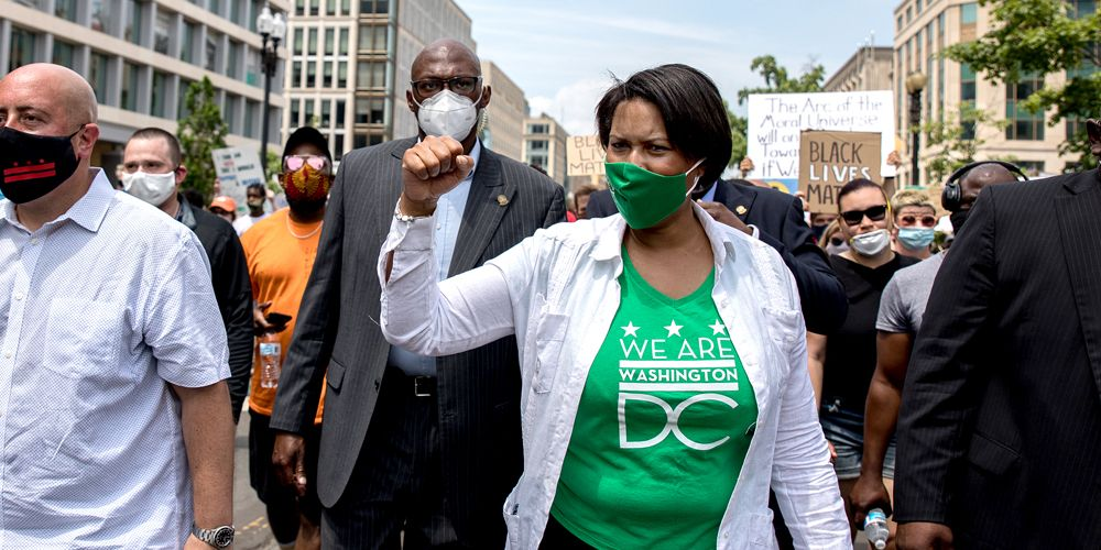 DC Mayor Bowser asks for more police funding a year after city council defunded police